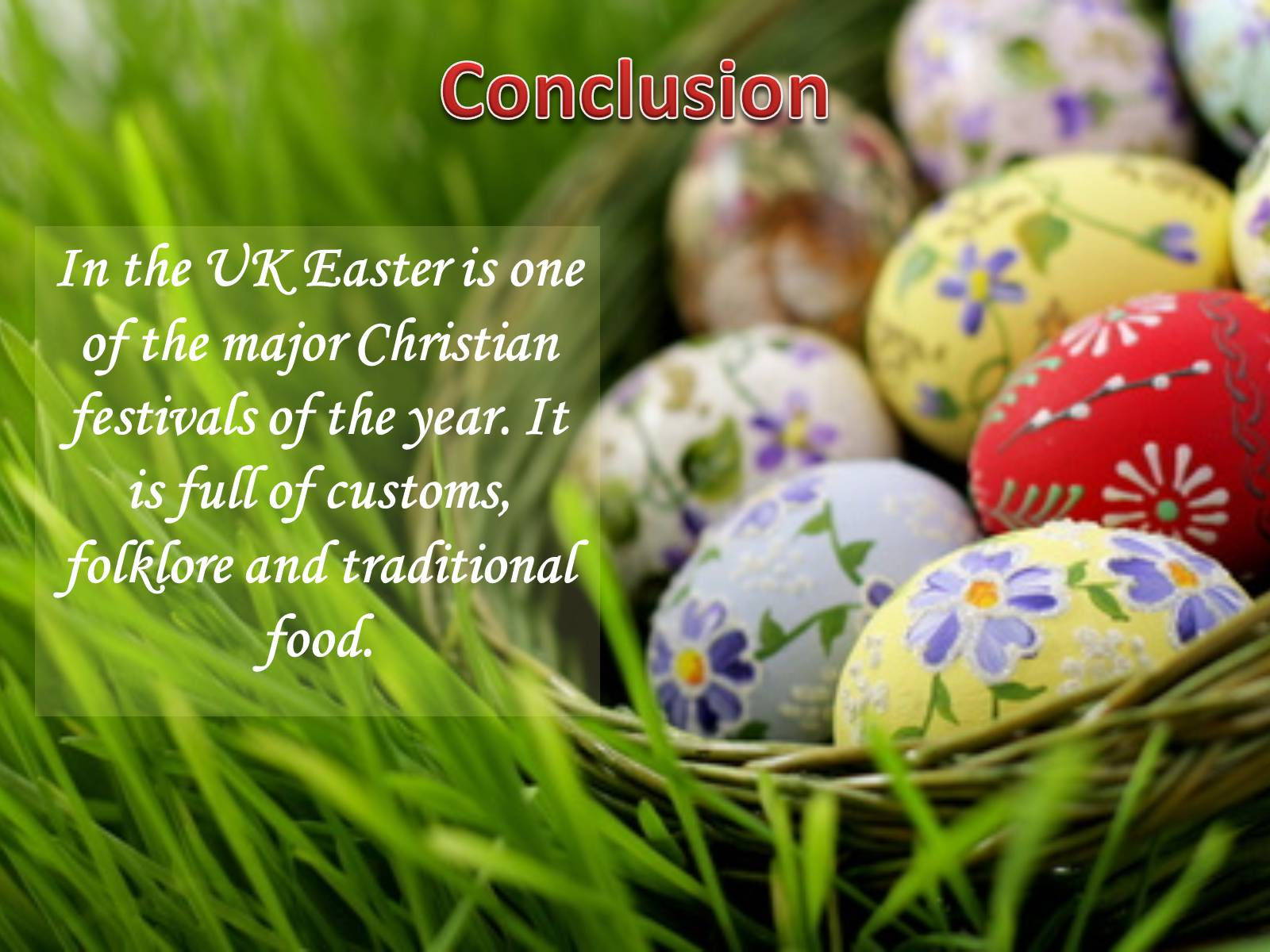 Презентація на тему «Easter Customs and Traditions in Great Britain» - Слайд #16