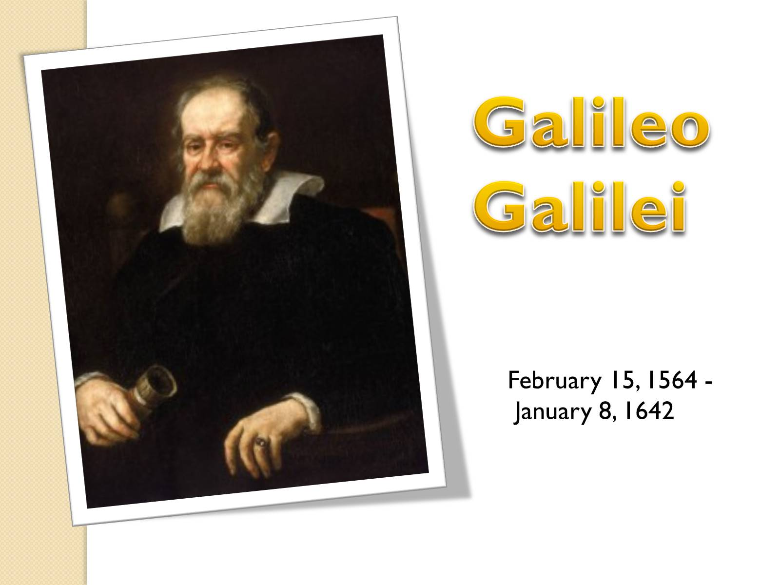 a biography of galileo galilei the first known physicist An essay or paper on galileo galilei, the first known physicist many individuals in history have been accredited for numerous accomplishments like galileo galilei, the first known physicist.