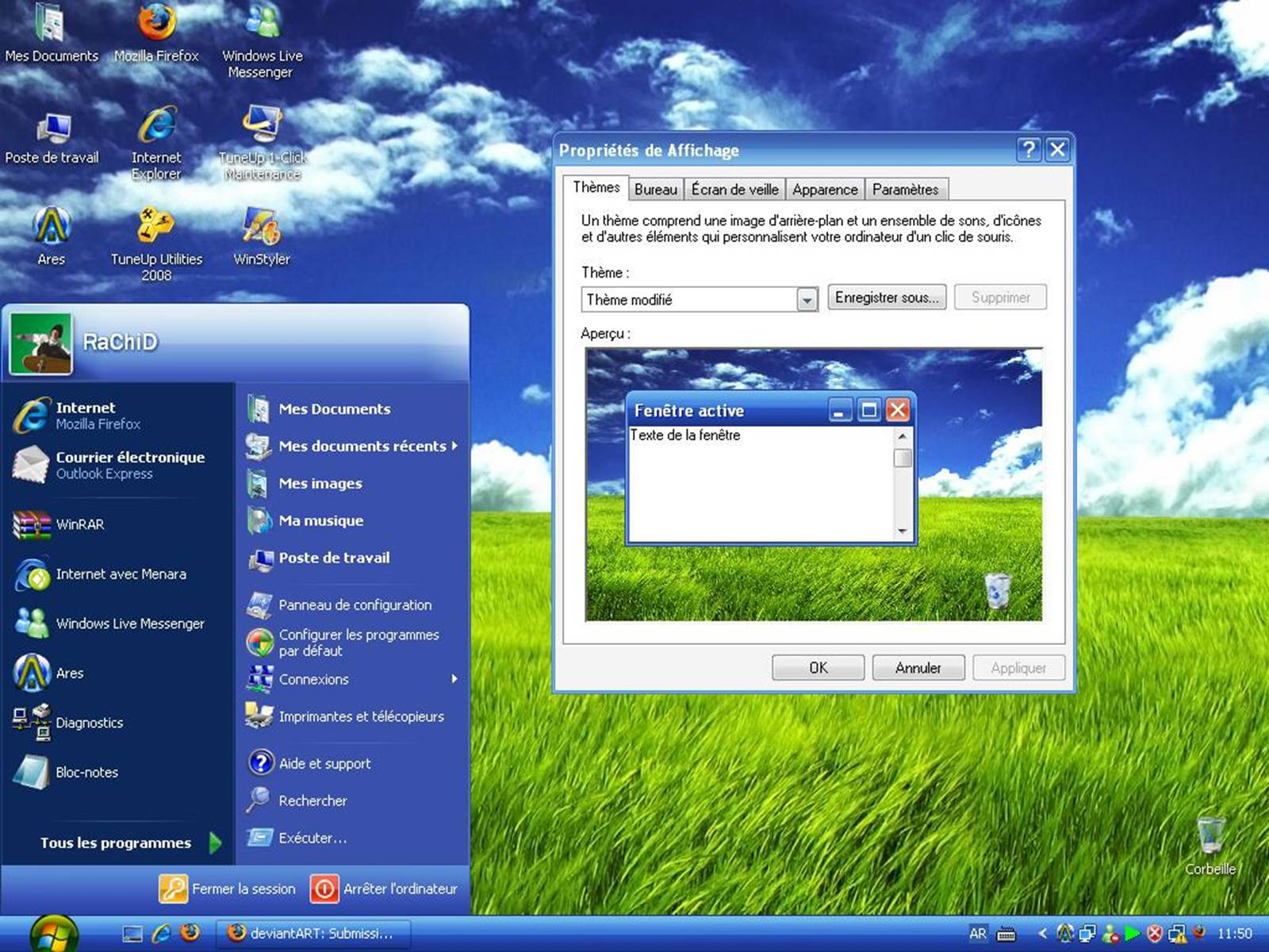 Windows xp что где находится
