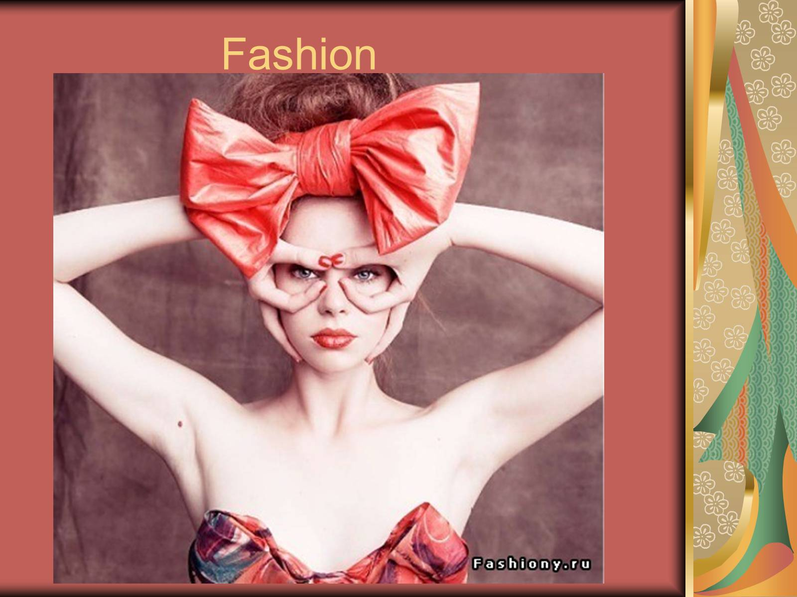 Ppt presentation on fashion trends 28