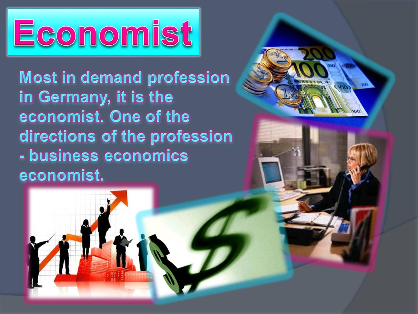 картинки экономист на английском