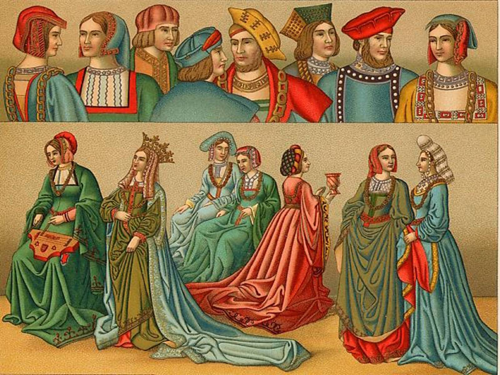 Medieval clothes and fashion 81