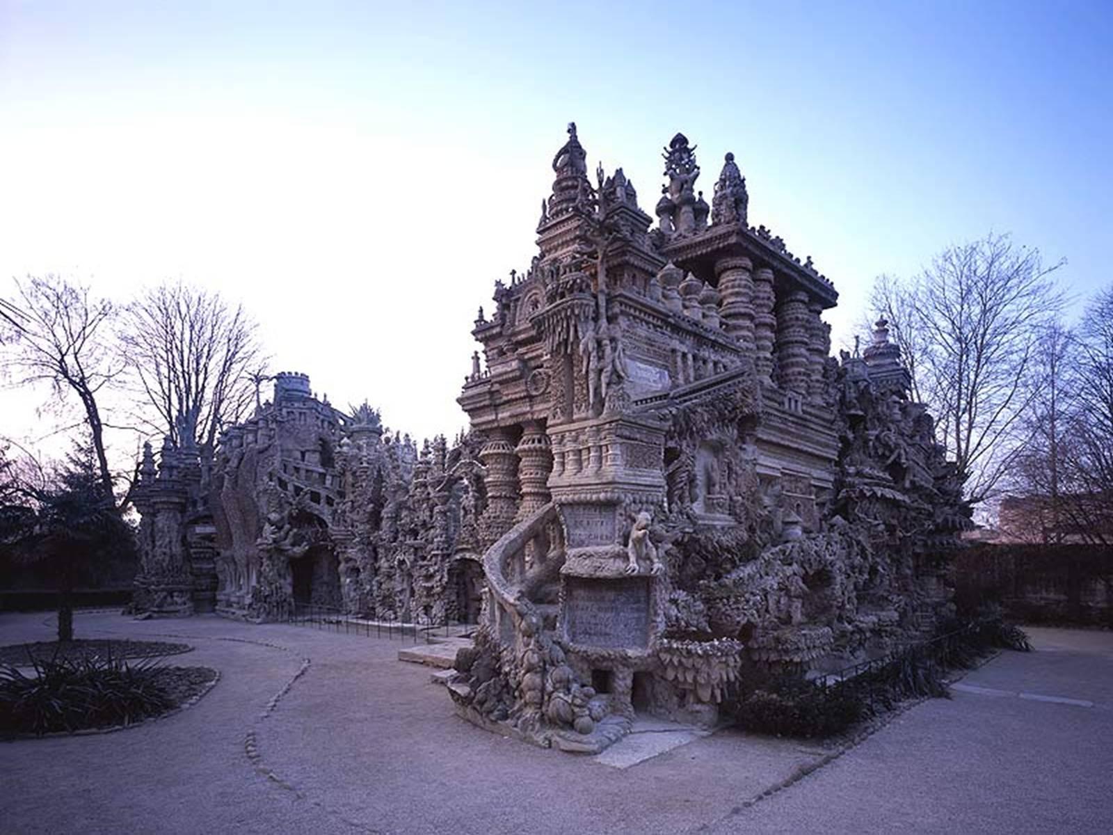 Декоративный замок своими руками фото