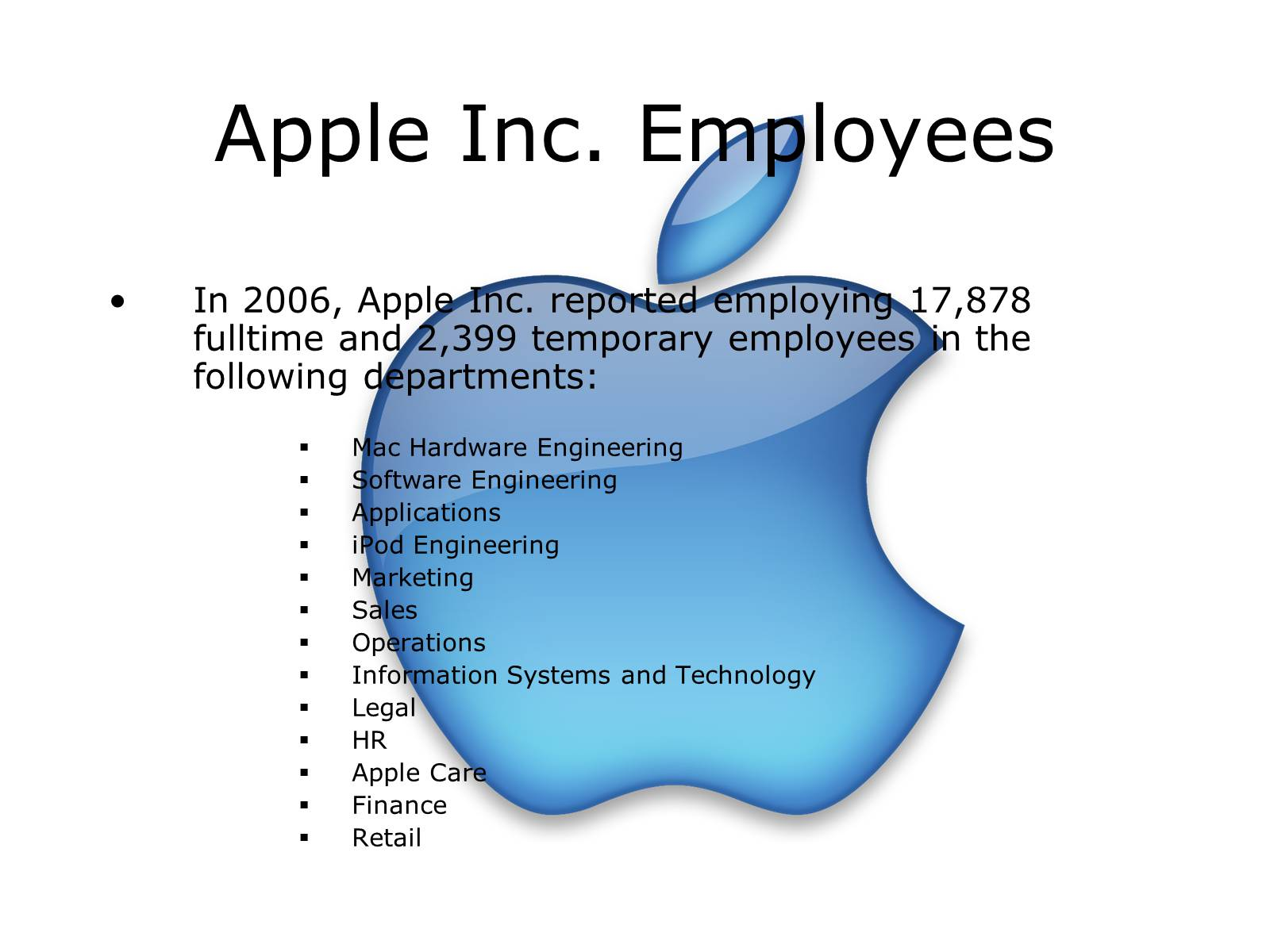 information system of apple inc This is my group presentation with naqib & diana for the subject of accounting information systems reference list can be given upon request.