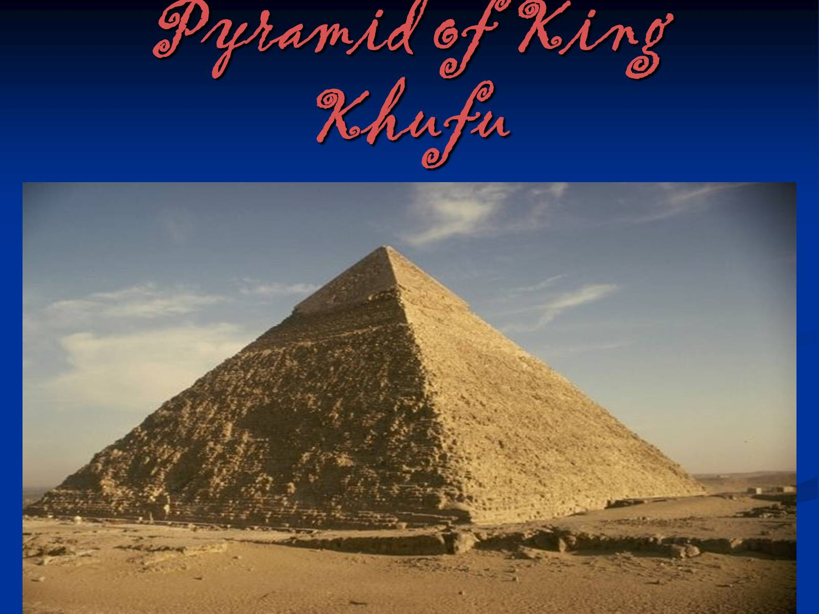 Pictures of king khufu Ancient Egypt - Teacher Oz