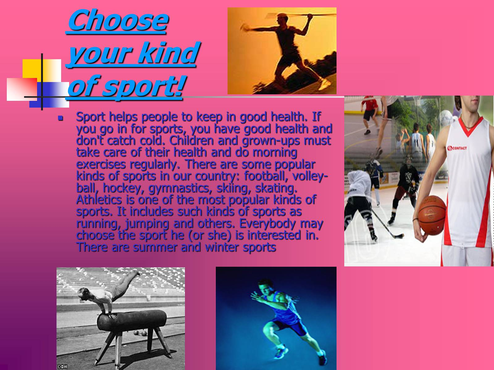 essay about sports as a way of life