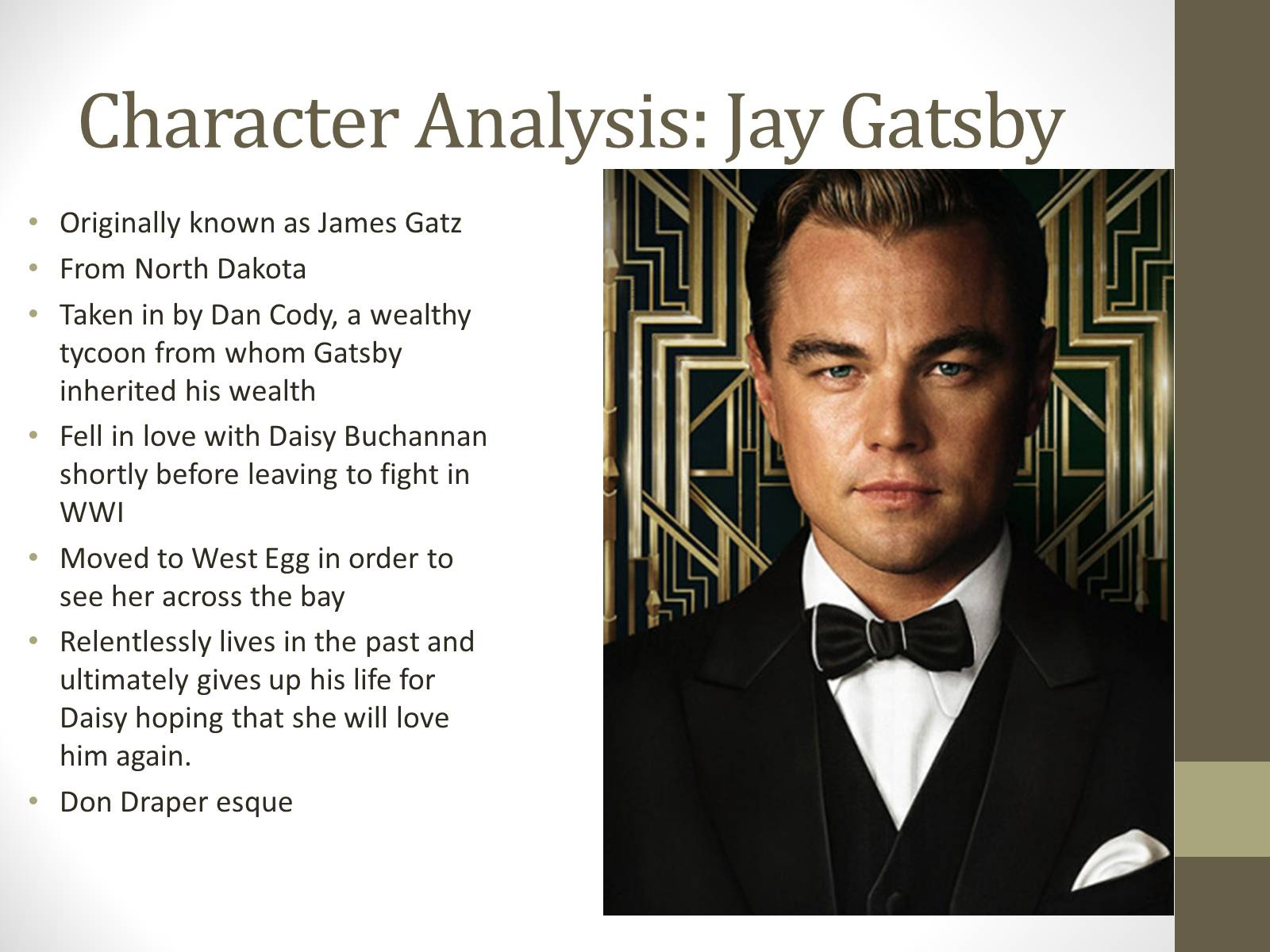 An Analysis Of The Character Nick Carraway In The Great Gatsby A  An Analysis Of The Character Nick Carraway In The Great Gatsby A Novel By F  Scott