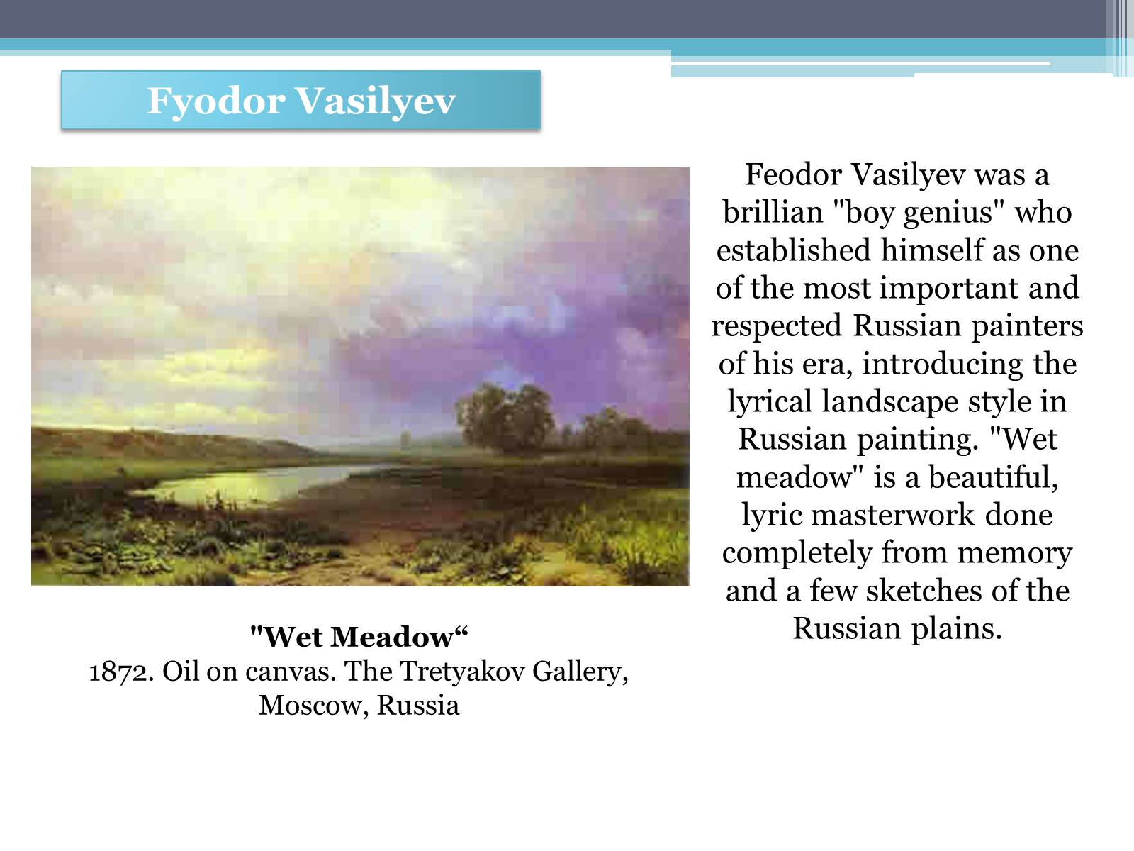 Презентація на тему «Russian painting in the second half XIX - beginning of XX century» - Слайд #12