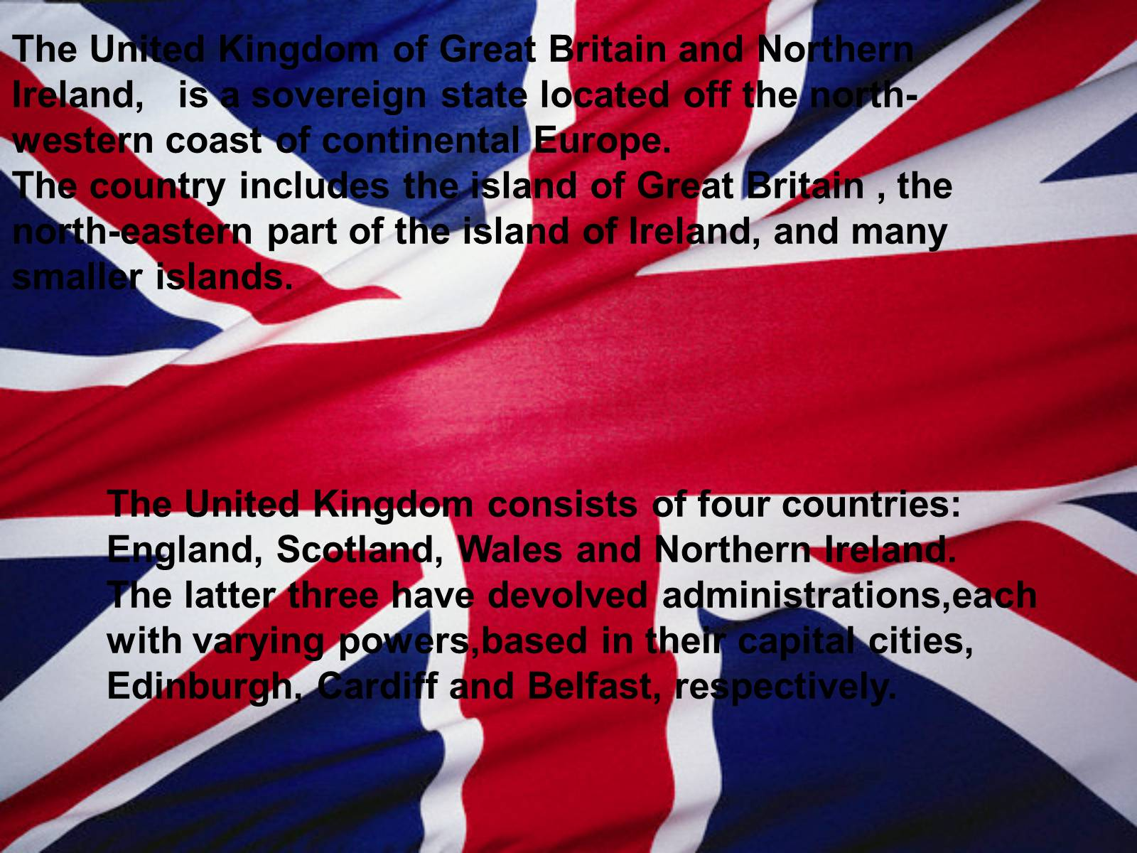 Презентація на тему «The United Kingdom of Great Britain and Northern Ireland» (варіант 1) - Слайд #2