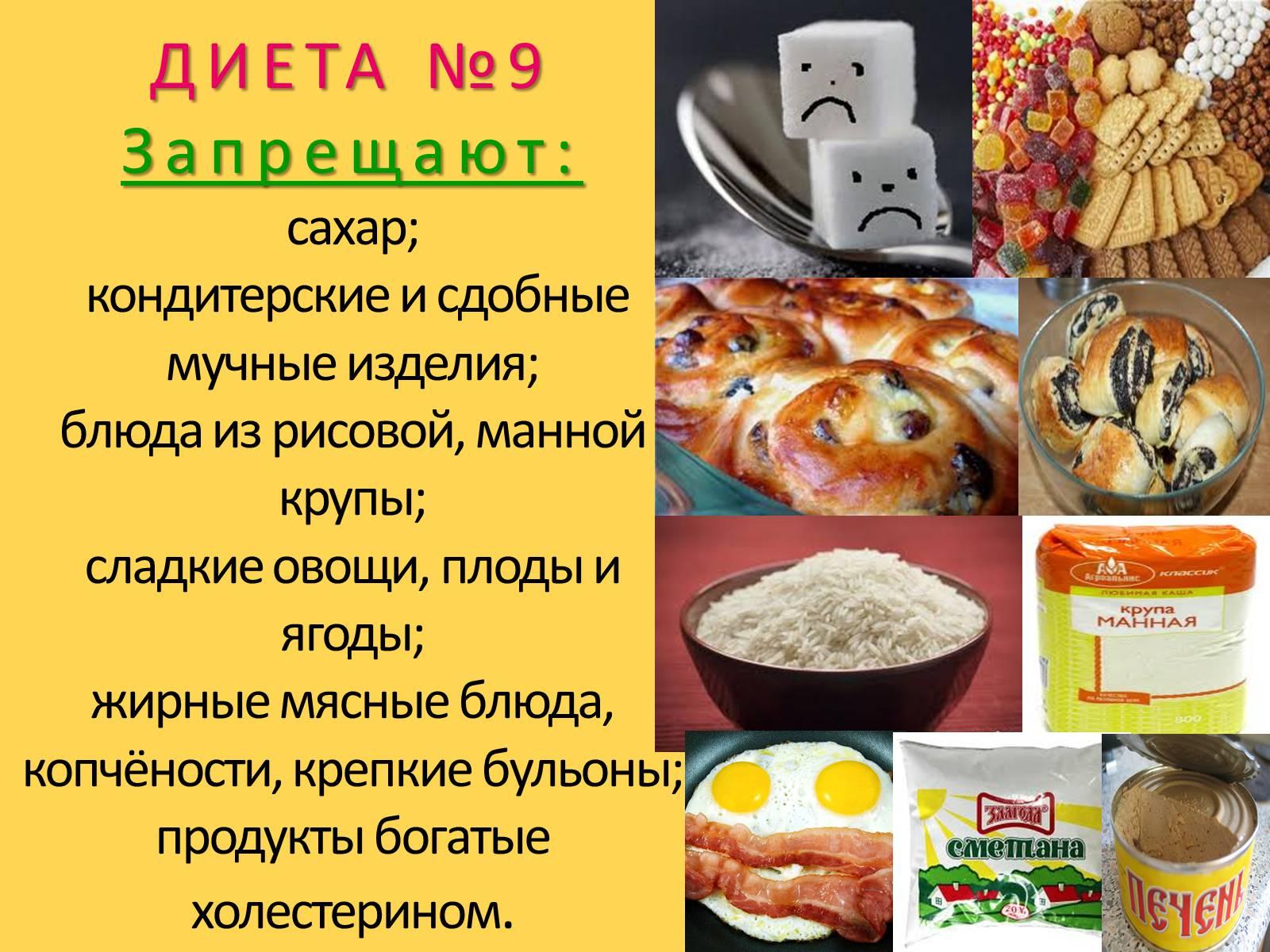 Диета Стол 9 Б. Стол 9 для диабетиков — меню на неделю и рецепты диетических блюд