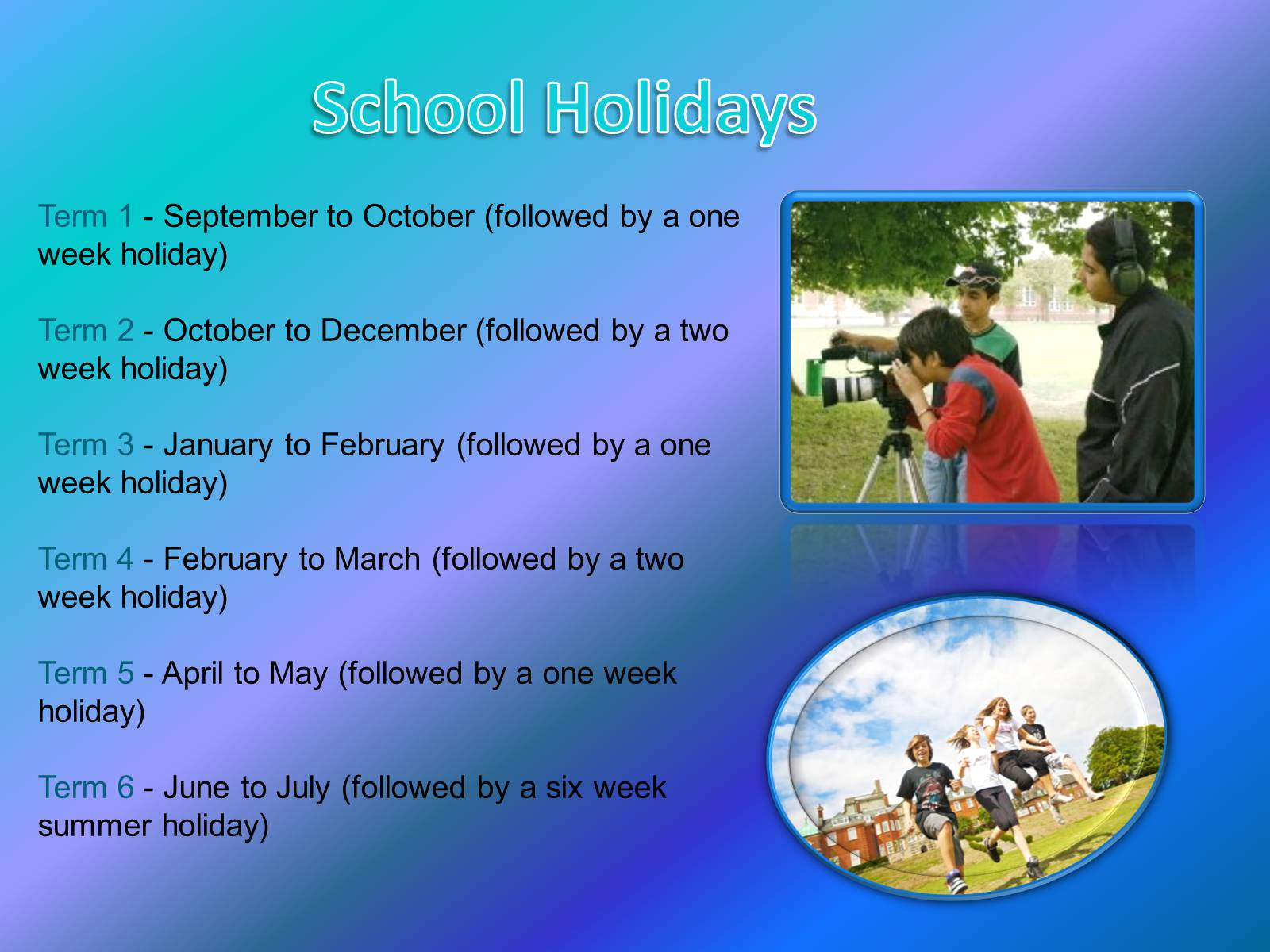 school holidays Know nsw school holidays 2018 and dates for all four terms holidays in new south wales are quite similar to the holiday dates in other states.