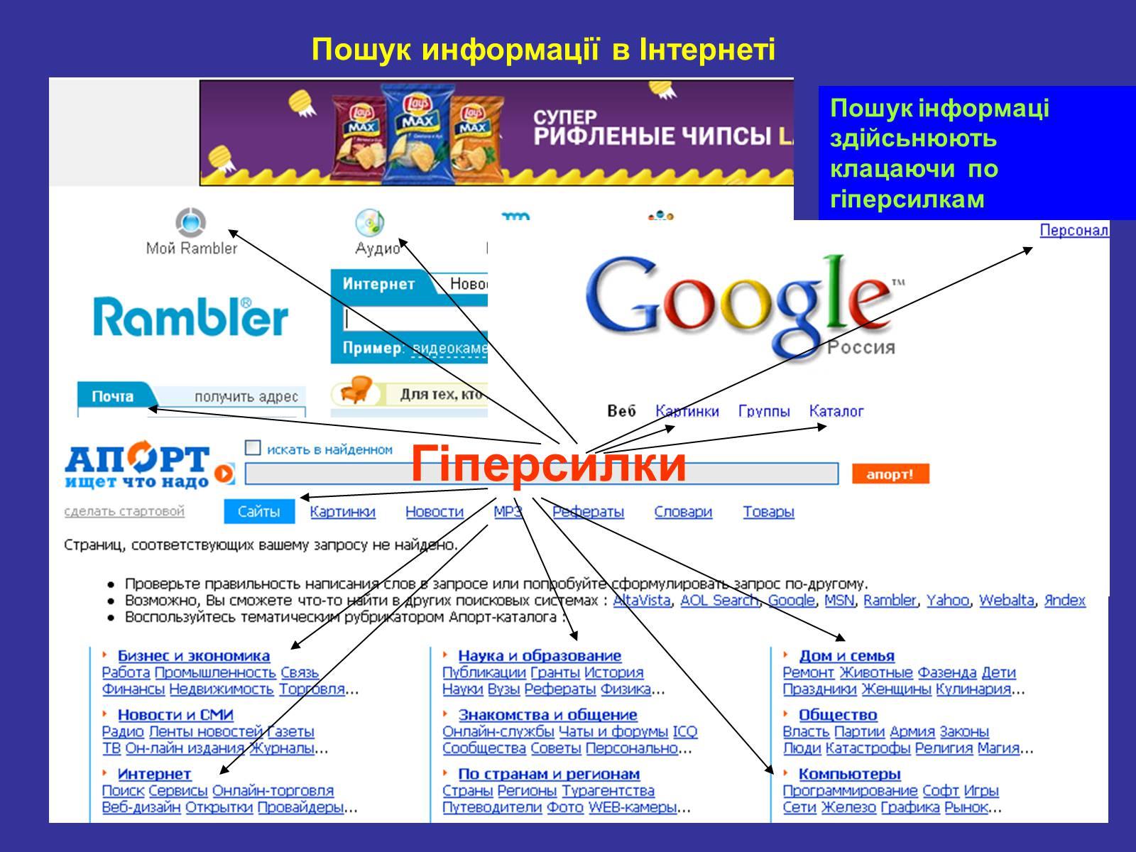 Как сделать поиск в интернете