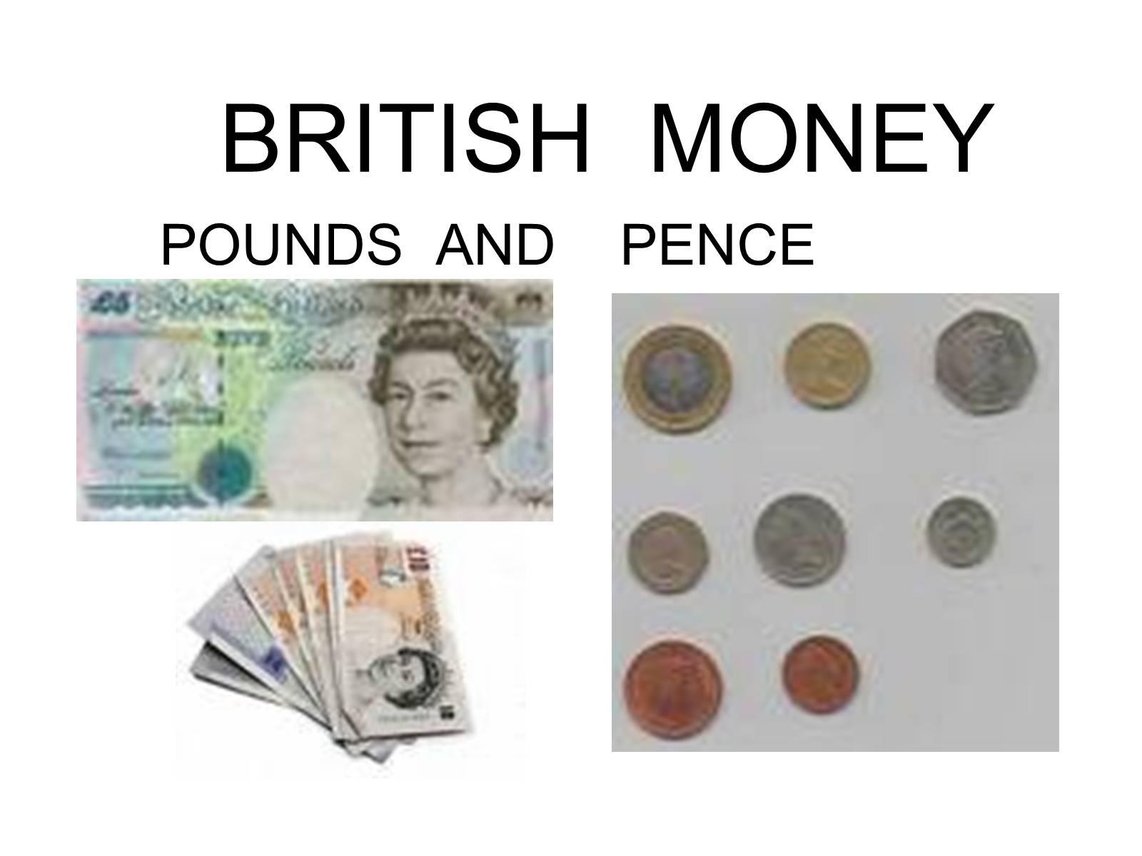 тема английские деньги доклад на английском языке этого, его помощью