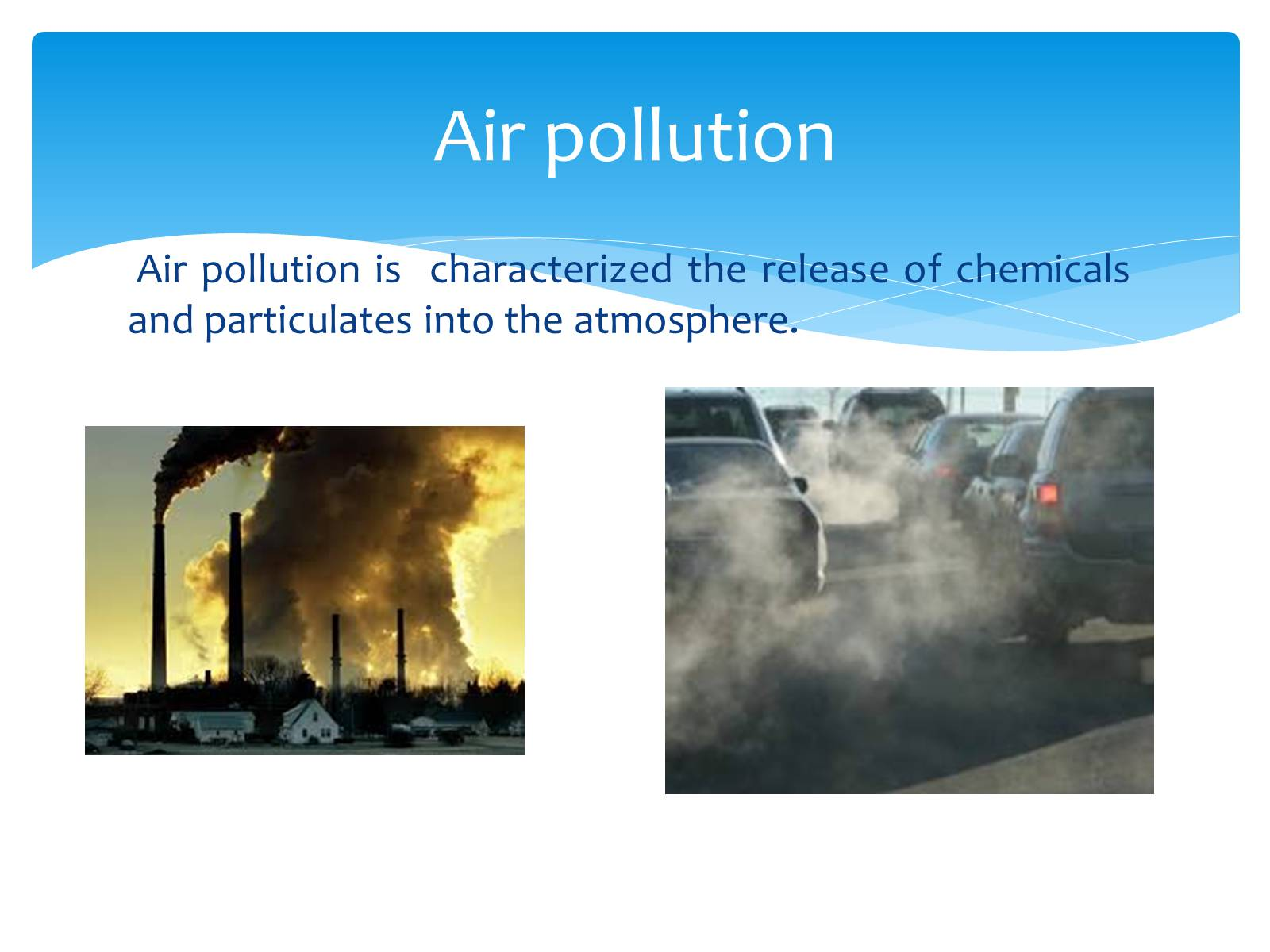 an essay on the air pollution problem in china