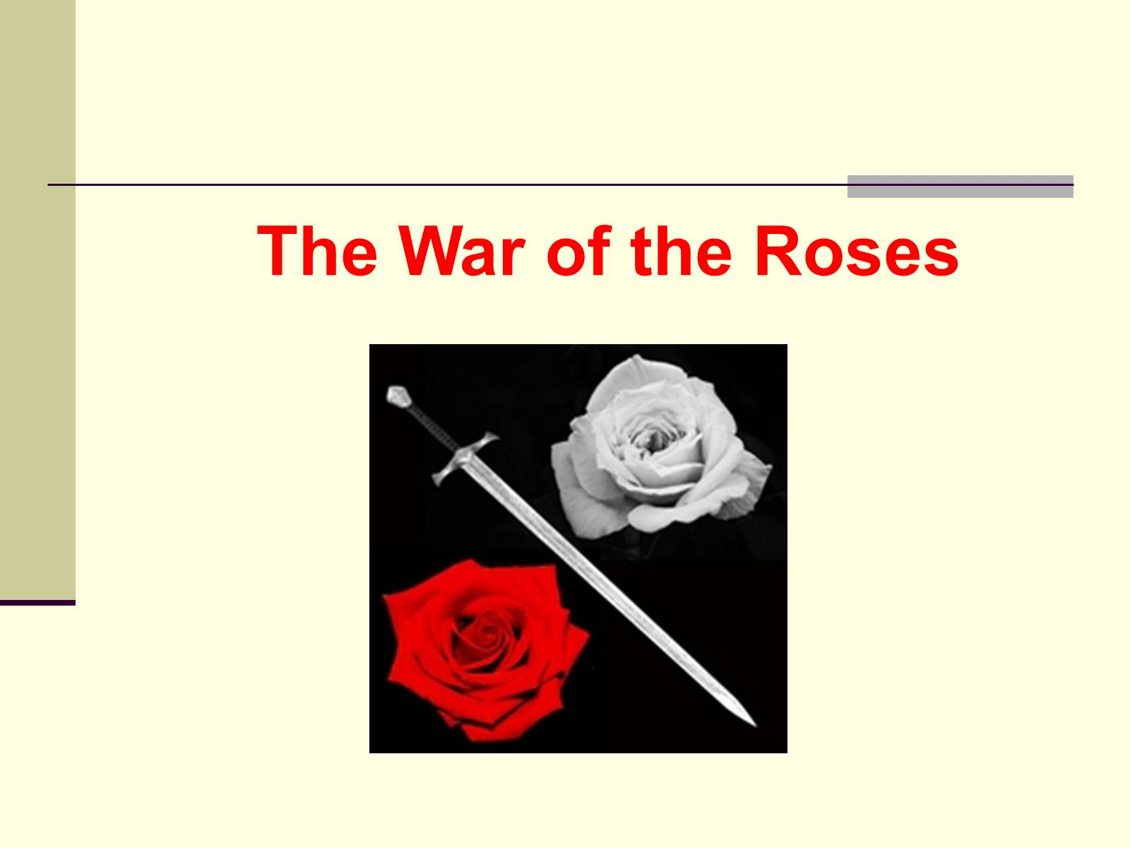 an overview of the war of roses between 1455 and 1485 Key players involved with the wars of the roses as the war involved overview of the dates part in the outcome of the wars of the roses 1455.