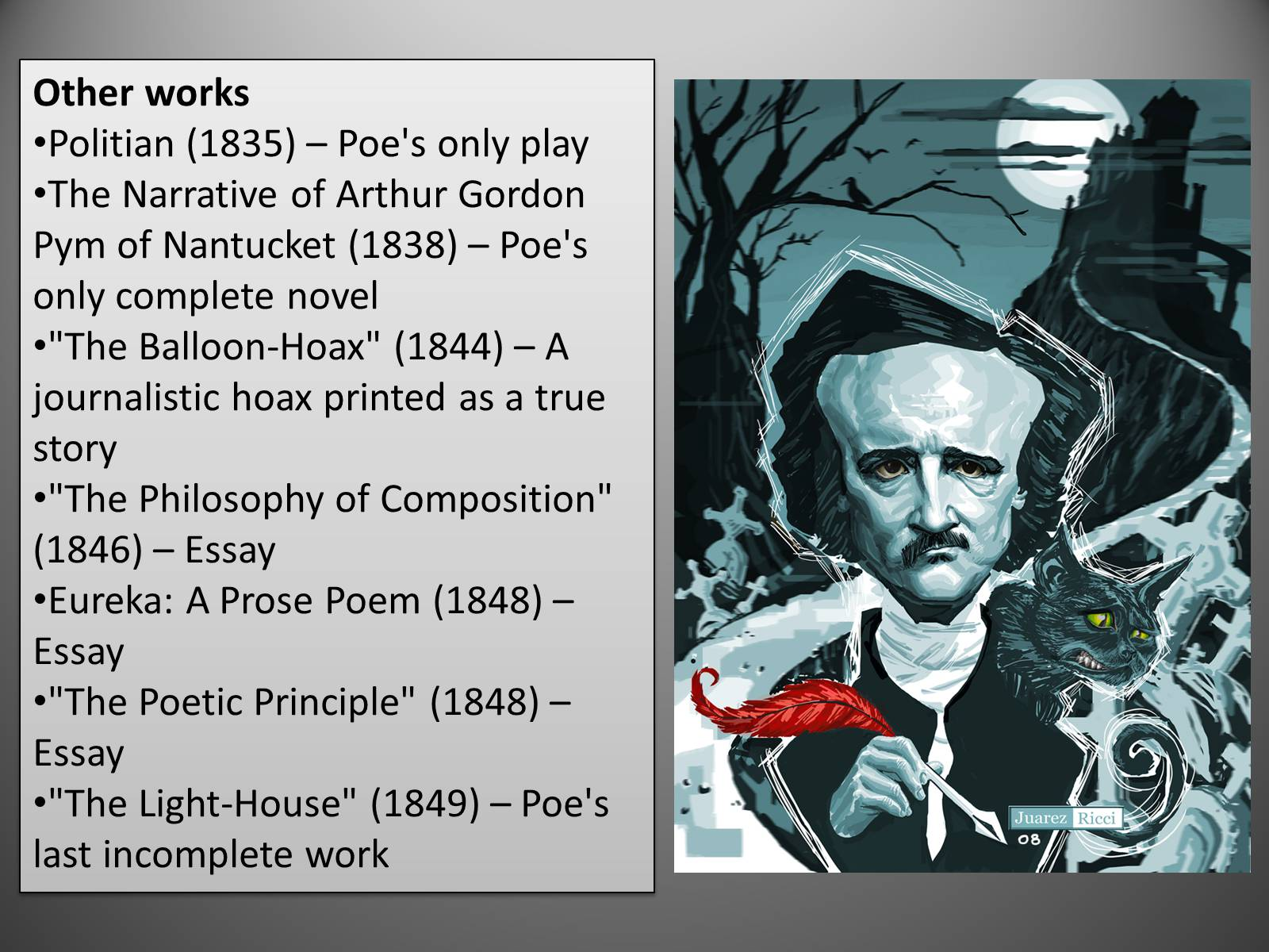 literary analysis of edgar allan poe
