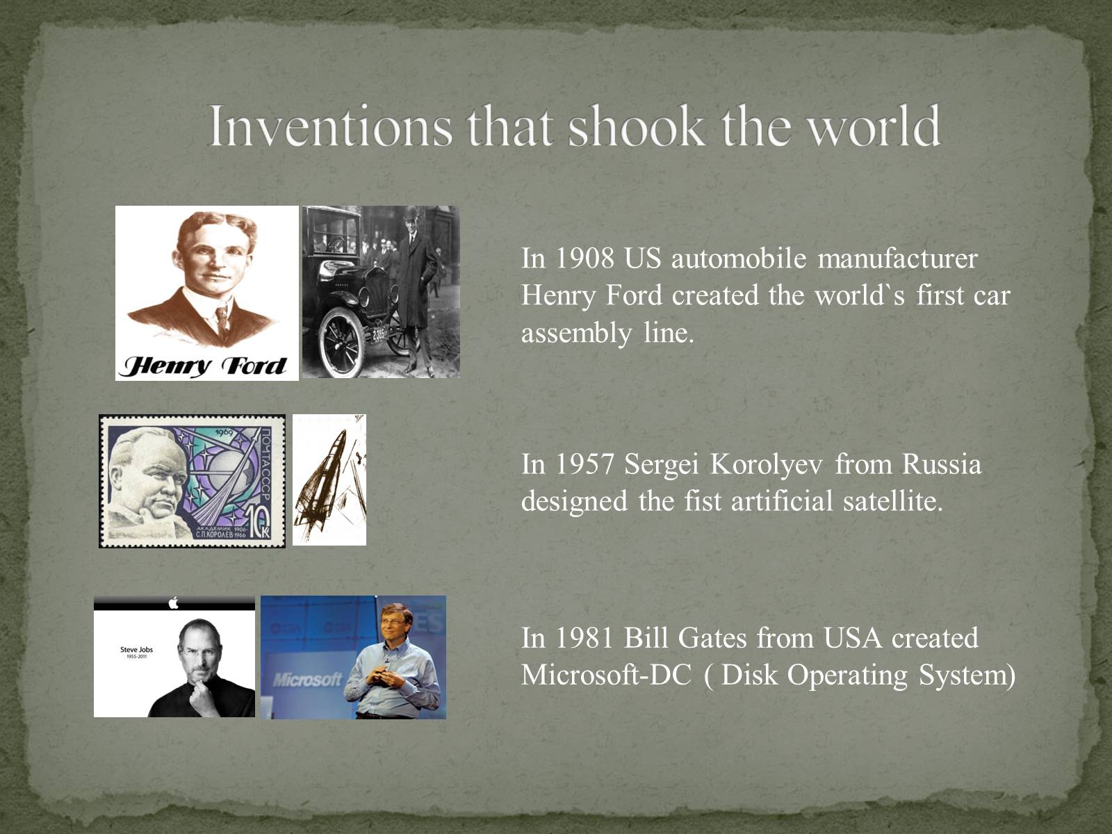 Презентація на тему «The Greatest inventors and invetentions John Logie Baird invented television» - Слайд #4