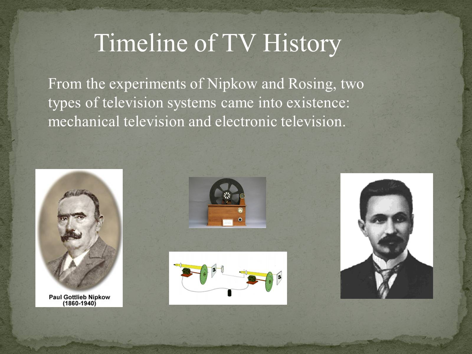 Презентація на тему «The Greatest inventors and invetentions John Logie Baird invented television» - Слайд #7