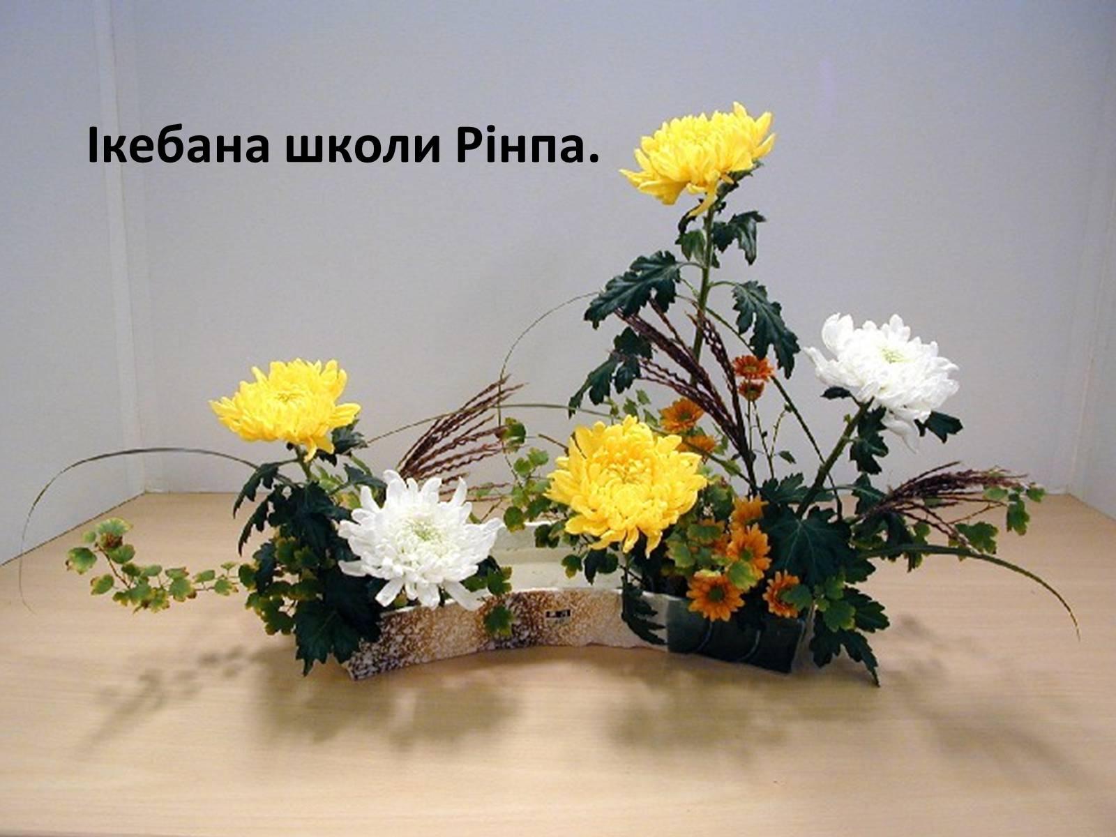 Икебана из живых цветов своими руками фото