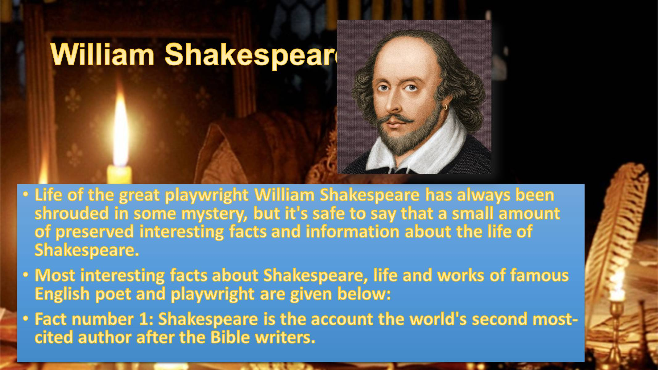 "william shakespeare shakespearean authorship research Overview | why does william shakespeare endure, from the classroom to the stage to the multiplex in this lesson, students investigate arguments and evidence regarding questions over shakespearean authorship, which is the topic of the movie ""anonymous,""and hold a roundtable discussion about the controversy and about shakespeare's."