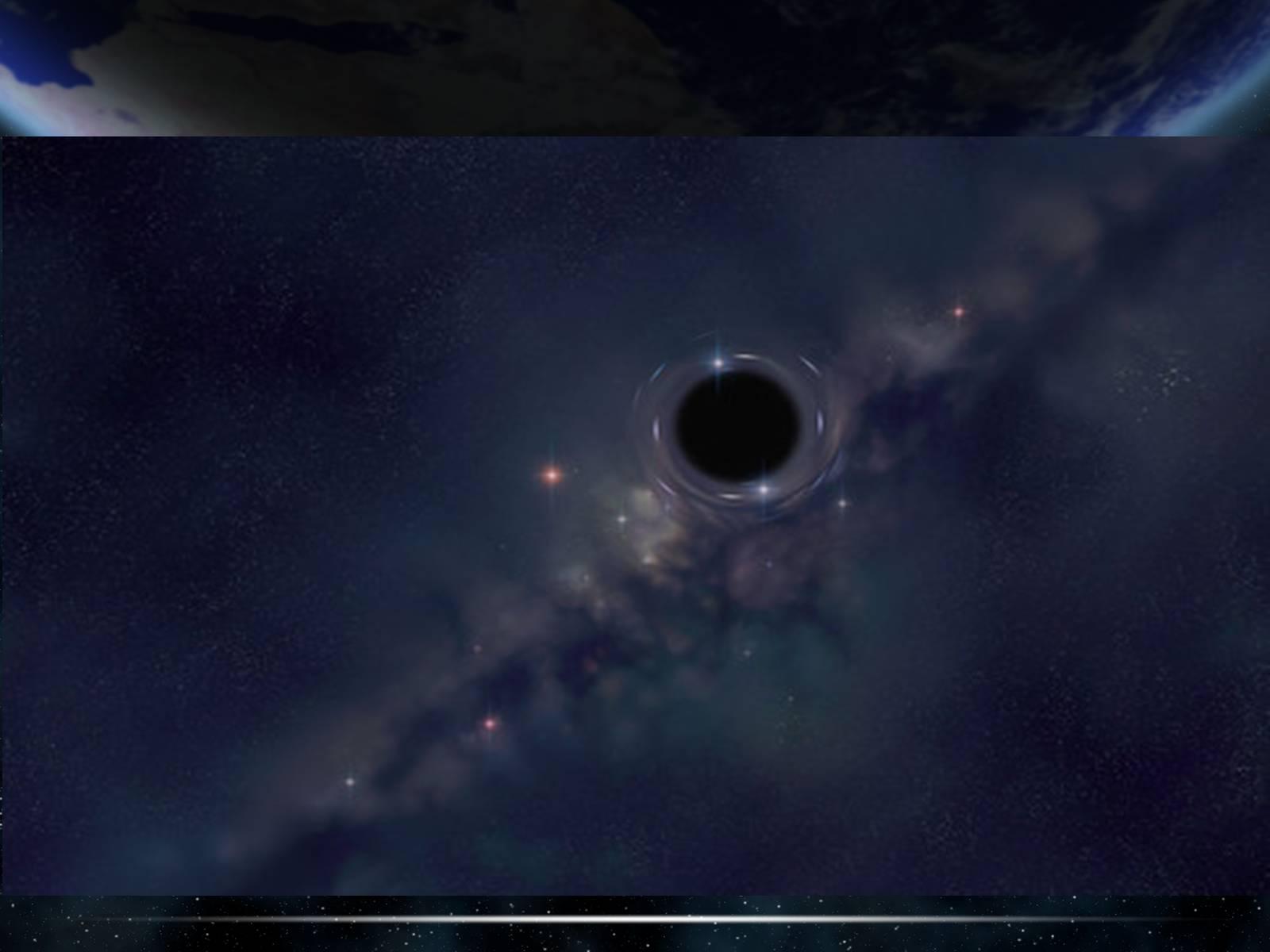 nasa finds black hole - HD1024×768