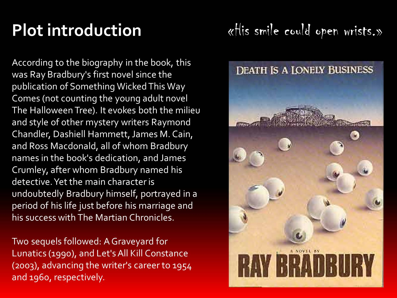 the theme of age in something wicked this way comes a novel by ray bradbury